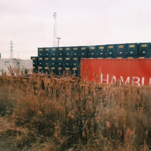 Stack's of shipping containers greater Newark, NJ